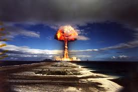 Explosion d'un matelas gonflable